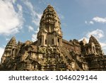 Central Tower Of Famous Angkor...
