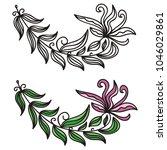 flower. vector illustration | Shutterstock .eps vector #1046029861