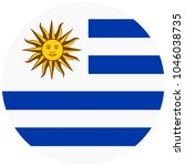 vector  round flag oriental... | Shutterstock .eps vector #1046038735