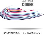 abstract background and cover... | Shutterstock .eps vector #1046053177
