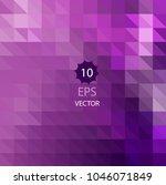 multicolor dark pink  blue...   Shutterstock .eps vector #1046071849