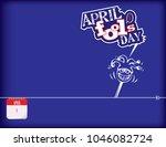 calendar holiday of april  ... | Shutterstock .eps vector #1046082724