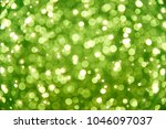 green abstract bokeh background | Shutterstock . vector #1046097037