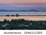panorama in the foreground part ... | Shutterstock . vector #1046111305