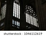 seeing the light  shafts of... | Shutterstock . vector #1046112619