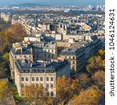 paris  panorama from the arc de ... | Shutterstock . vector #1046124631