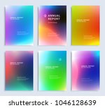 modern abstract annual report ... | Shutterstock .eps vector #1046128639