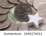 a quarter of american samoa ... | Shutterstock . vector #1046176411