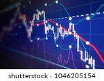 economic crisis   stock market... | Shutterstock . vector #1046205154