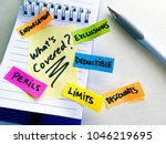 insurance questions note on... | Shutterstock . vector #1046219695