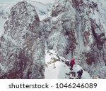 climber in mountains lifestyle... | Shutterstock . vector #1046246089