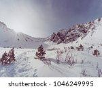 sayan mountain trehglavaya... | Shutterstock . vector #1046249995