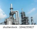 close up industrial zone. plant ... | Shutterstock . vector #1046255827