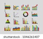 statistics analysis data | Shutterstock .eps vector #1046261407