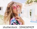 close up portrait of... | Shutterstock . vector #1046269429