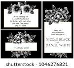 vintage delicate invitation... | Shutterstock .eps vector #1046276821