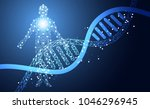 abstract health medical science ...   Shutterstock .eps vector #1046296945