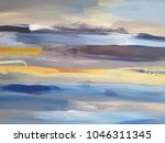abstract art painting... | Shutterstock . vector #1046311345