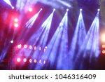 performance moving lighting on... | Shutterstock . vector #1046316409