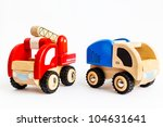 Wooden Truck And Fire Engine...