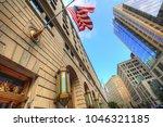 boston downtown skyline | Shutterstock . vector #1046321185