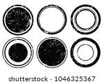 vector grunge stamps.grunge... | Shutterstock .eps vector #1046325367