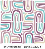 seamless repeating pattern.... | Shutterstock .eps vector #1046363275