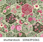seamless abstract colorful... | Shutterstock .eps vector #1046391061