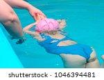 a little girl of european...   Shutterstock . vector #1046394481