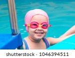 a little girl of european...   Shutterstock . vector #1046394511