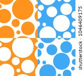 bright circles seamless pattern ... | Shutterstock .eps vector #1046409175