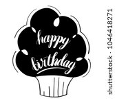 happy birthday isolated vector... | Shutterstock .eps vector #1046418271