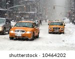 A Blizzard Hits New York