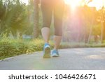 young fitness woman legs...   Shutterstock . vector #1046426671