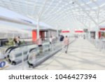 people visit a trade show.... | Shutterstock . vector #1046427394