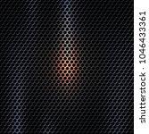 vector 3d dark metal texture... | Shutterstock .eps vector #1046433361
