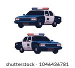 Retro Police Cars Set....