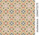 vector seamless pattern  based... | Shutterstock .eps vector #1046472175