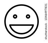 big smile smiley | Shutterstock .eps vector #1046497831