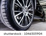 brabus alloy wheels. moscow ... | Shutterstock . vector #1046505904
