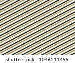 row of beige green stripes...   Shutterstock . vector #1046511499
