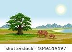 vector color illustration of... | Shutterstock .eps vector #1046519197