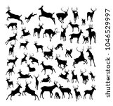 High Quality Deer Silhouettes....