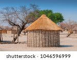 Typical Thatched Roof African...