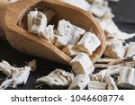 dried and sliced marshmallow... | Shutterstock . vector #1046608774