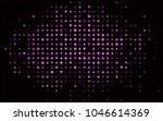 dark purple vector cover with... | Shutterstock .eps vector #1046614369
