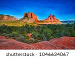Courthouse Butte and Bell Rock, AZ