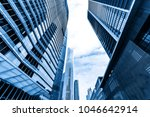 the skyscraper is in guangzhou  ... | Shutterstock . vector #1046642914