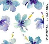 blue flowers. for wedding... | Shutterstock . vector #1046645809