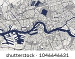 vector map of the city of...   Shutterstock .eps vector #1046646631